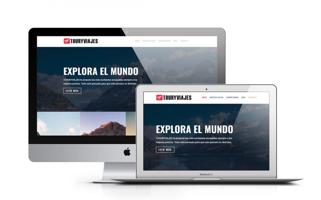Diseño web Inicio
