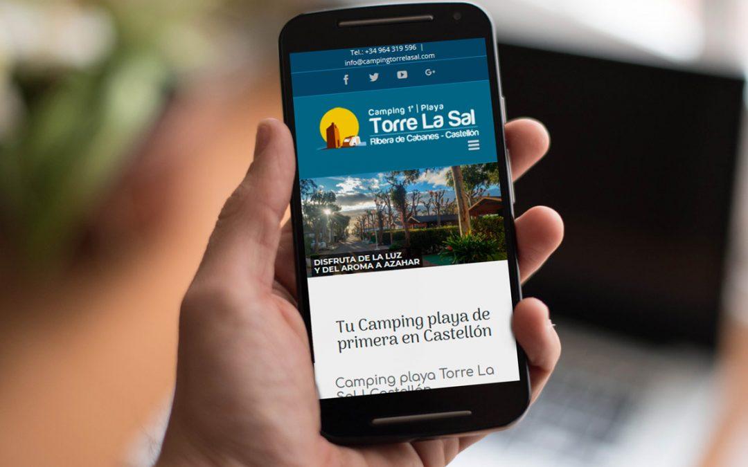 Camping Torre La Sal | Diseño web corporativa