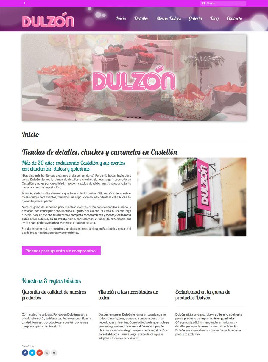 Dulzón Castellón detalle home
