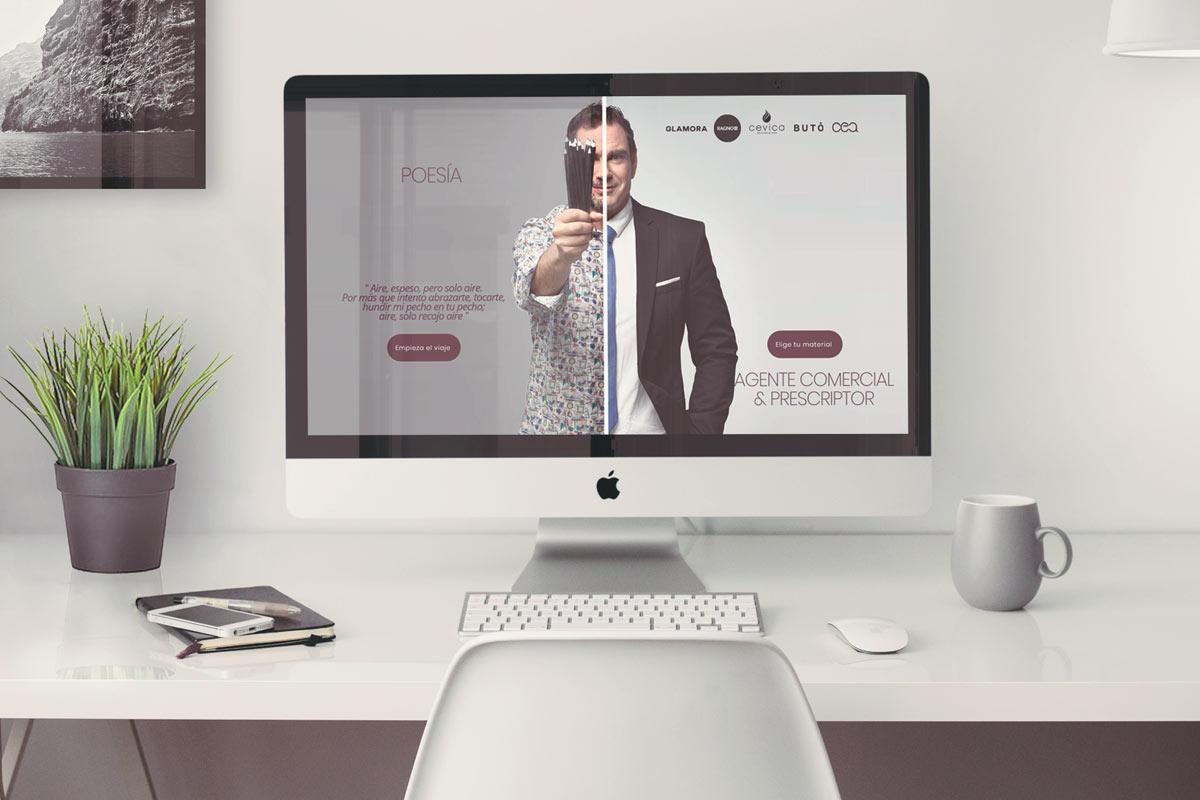 Juan de Toro Agente materiales construcción Diseño web