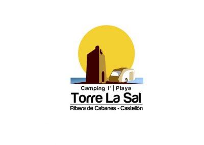 Diseño de logotipo Camping Torre la Sal