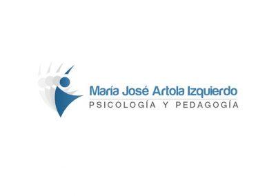 Diseño de logotipo María Jose Artola Psicología