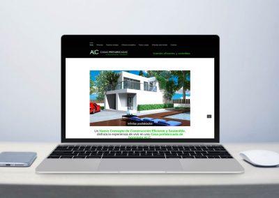 Casas prefabricadas ALC , diseño web, SEO y SEM